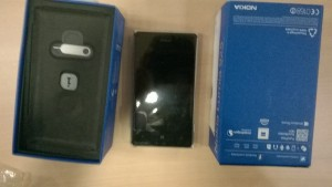 Our gift Lumia 925 for best Windows and Azure app at hacknight.